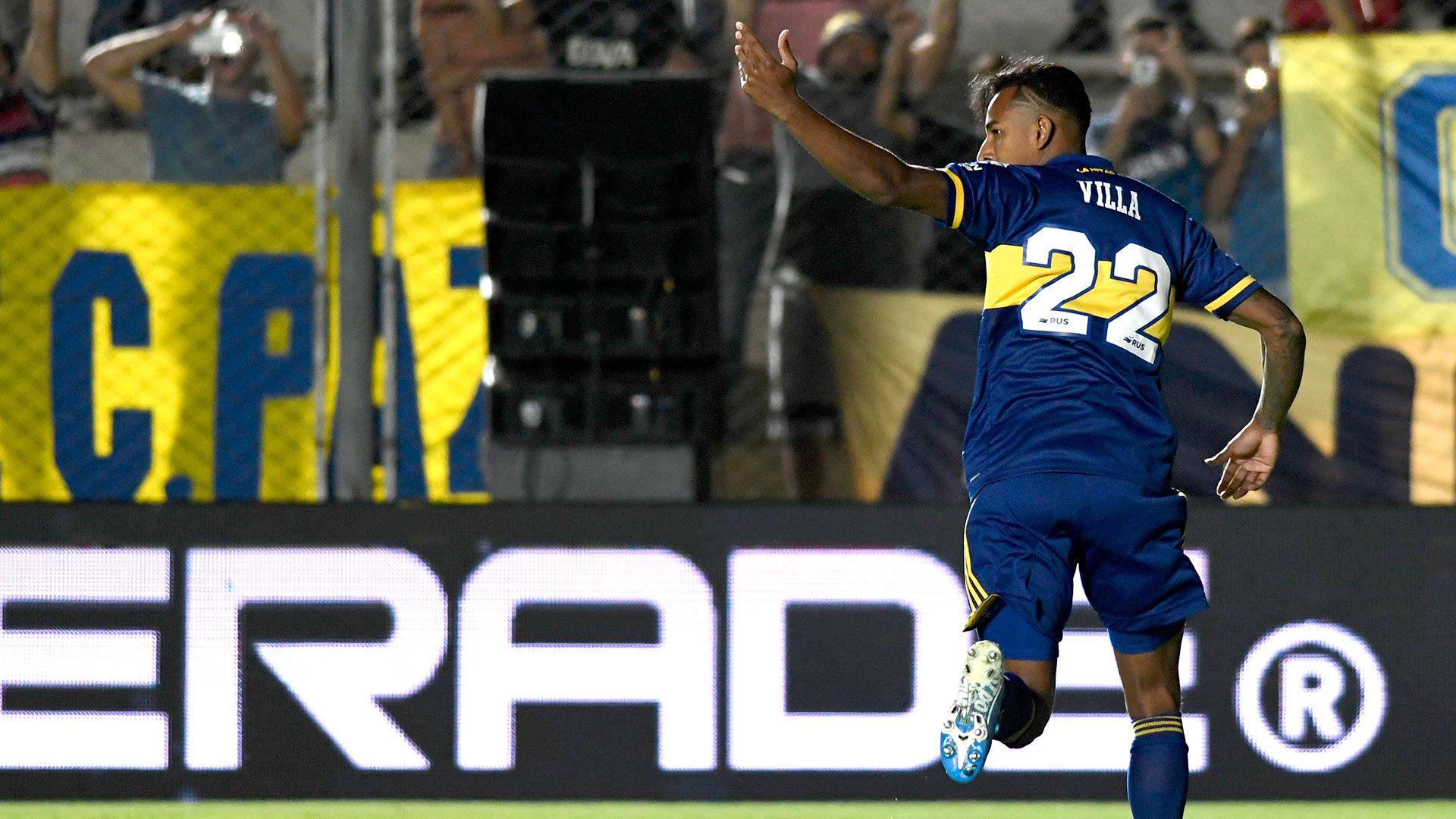 Sebastián Villa parece tener las horas contadas en Boca (Foto Baires)