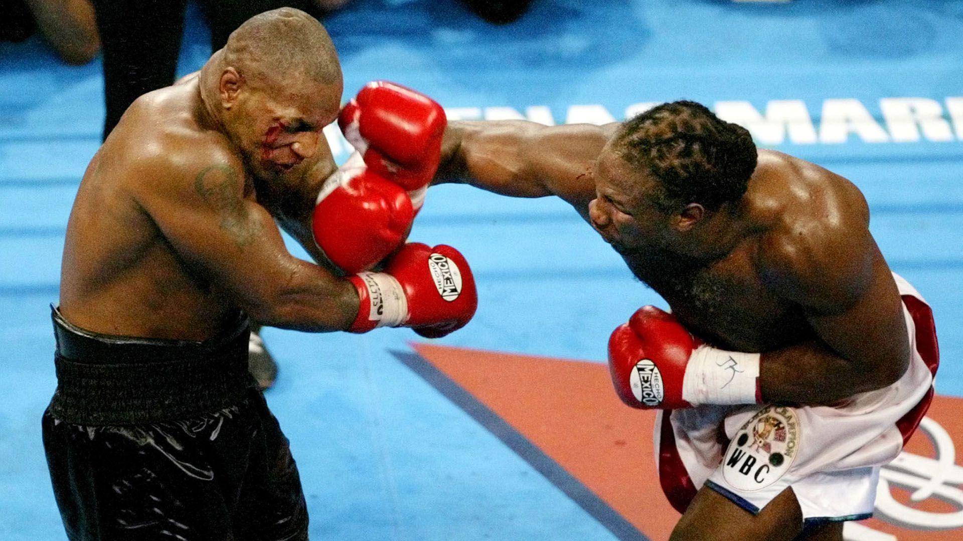 Mike Tyson y Lennox Lewis