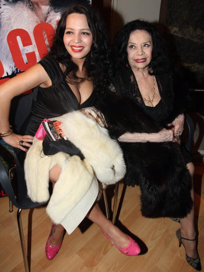 La Coca Sarli con su hija Isabelita