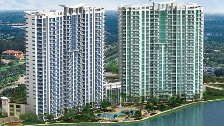 Miami: uno de los complejos que se sospecha fueron comprados por Muñoz con dinero de la corrupción