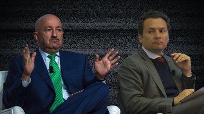 Emilio Lozoya y Carlos Salinas (Fotoarte/Steve Allen Infoabe)