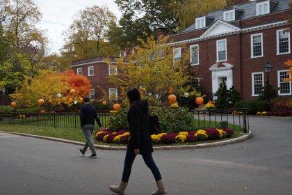 Entre todos los campus de Harvard, el de la escuela de negocios es el más deslumbrante.