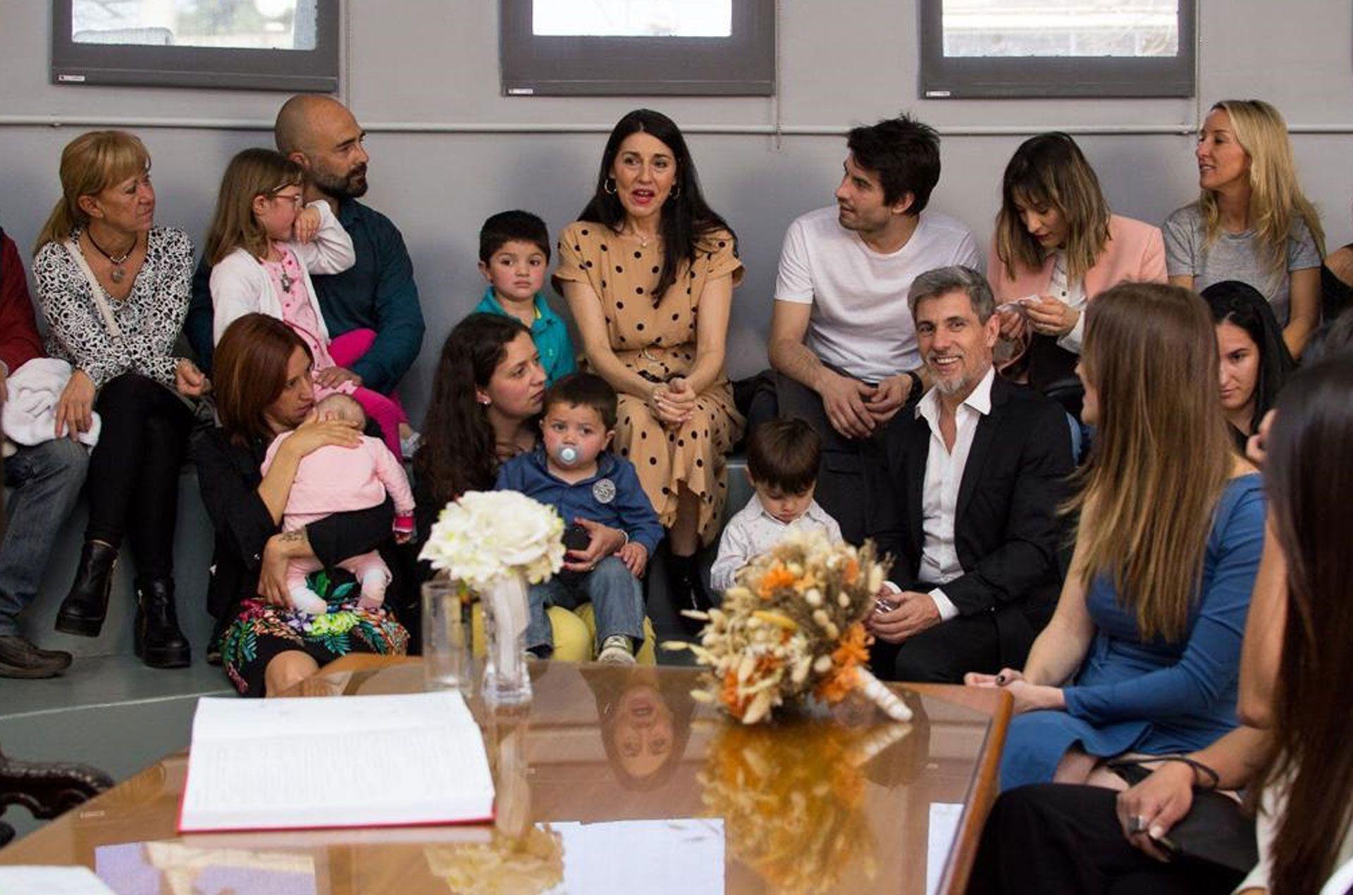 La familia de la novia viajó a Córdoba para acompañarla en este día tan especial (Teleshow)