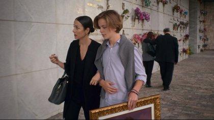 """Cecilia Suárez con Luis de la Rosa (""""Luis Miguel, la serie""""), en la escena que cambió el destino de su personaje; y de la serie en su conjunto"""