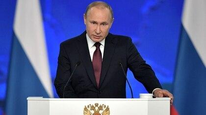 El presidente de Rusia , Vladimir Putin (REUTERS)