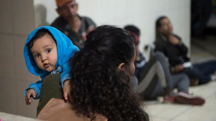 Venezolanos en Lima (AFP)