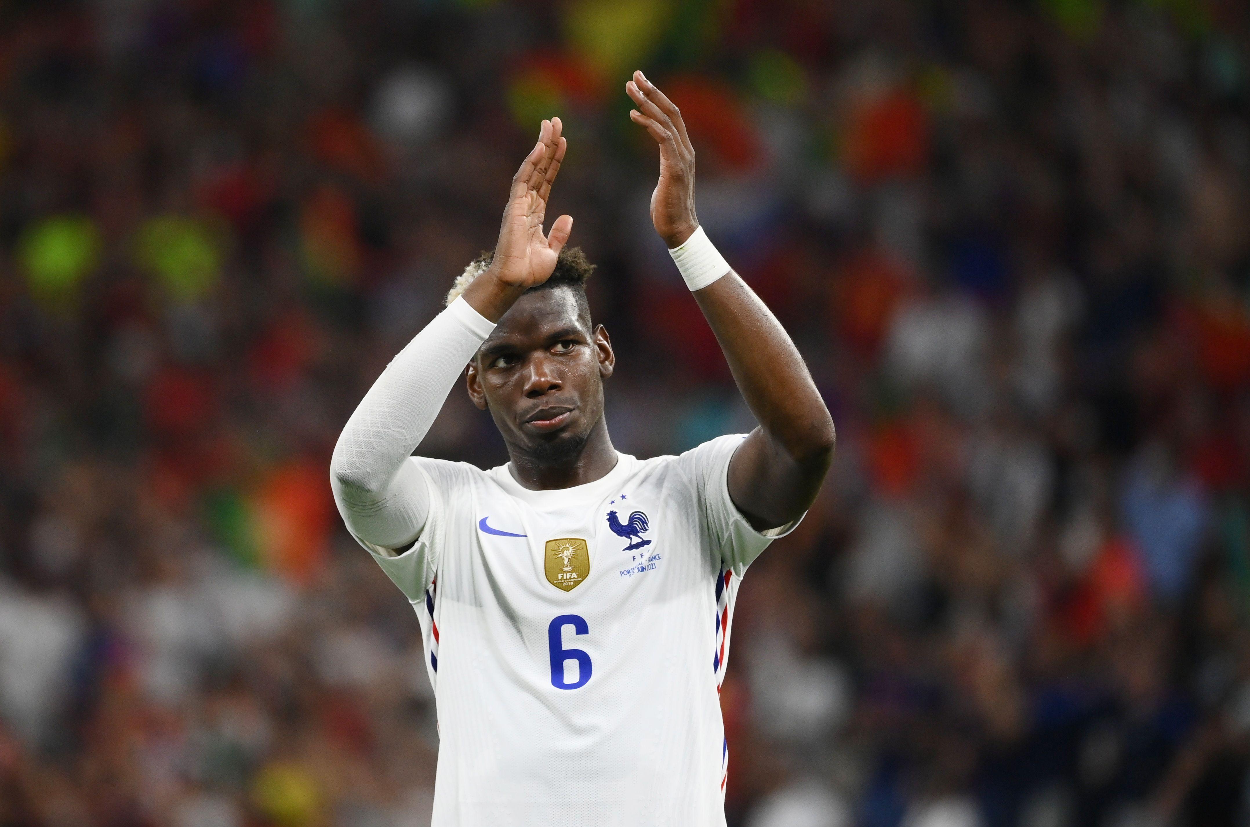 Paul Pogba viene de destacarse en la Eurocopa (REUTERS/Franck Fife)