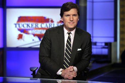 Tucker Swanson McNear Carlson es un comentarista político conservador estadounidense de Fox News (AP Foto/Richard Drew, Archivo)