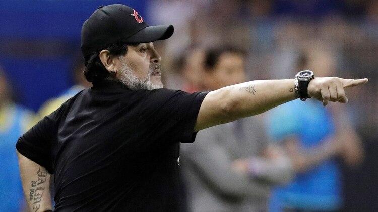 Diego, en su último paso en México como director técnico (Foto: Reuters)