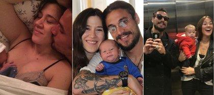 Las fotos que compartió Osvaldo para saludar a su ex mujer por el Día de la Madre