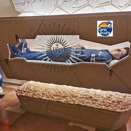 El cuerpo de Carlo Acutis