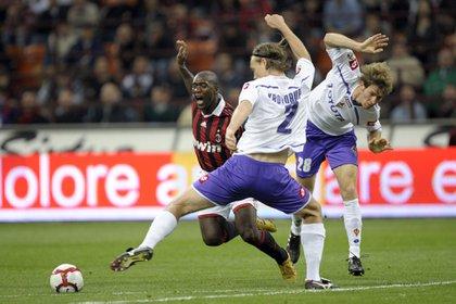 Mario Bolatti jugó durante una temporada en la Fiorentina (NA)