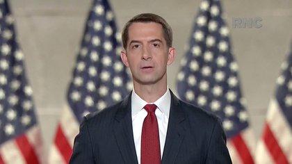 El senador republicano por arkandas Tom Cotton (Reuters)