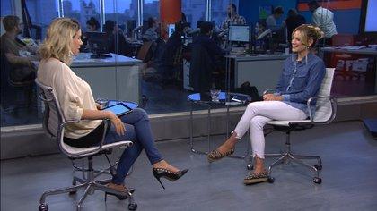 """Rocío Igarzábal habló de""""Entre los árboles"""" con Teleshow, el 16 de noviembre se presenta en La Trastienda."""