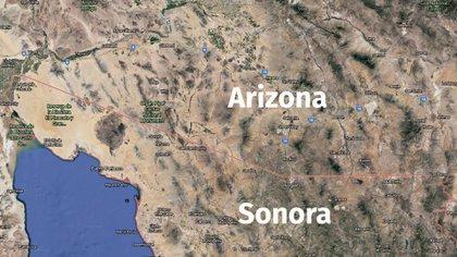 """La zona que alguna vez dominó el llamado """"supecártel"""" (Imagen: Google Earth)"""