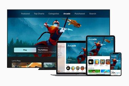 Apple Arcade estará disponible para iPhone, iPad, Mac y Apple TV.