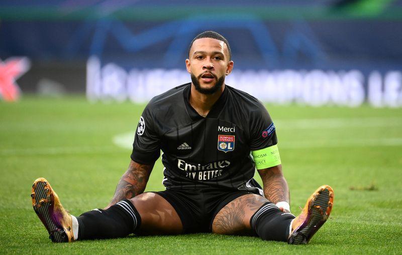 Memphis Depay seguirá en el Olympique Lyon (Reuters)
