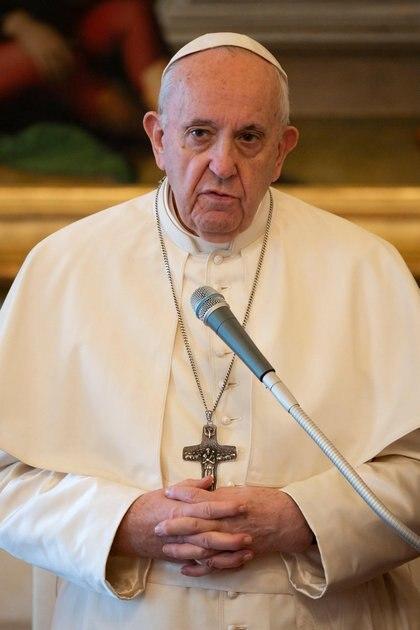 El papa Francisco, en audiencia general en el Vaticano (Reuters)