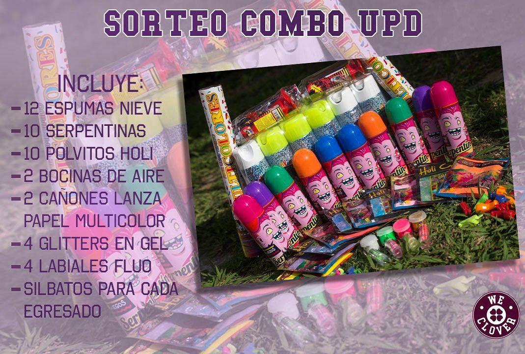 El concurso para los festejos del UPD publicado en las redes sociales por una empresa que confecciona y vende buzos para egresados