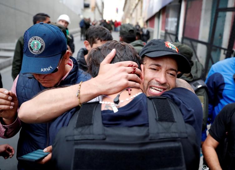 Luis Fernando Camacho, líder cívico de Santa Cruz de la Sierra (REUTERS/Carlos Garcia Rawlins)