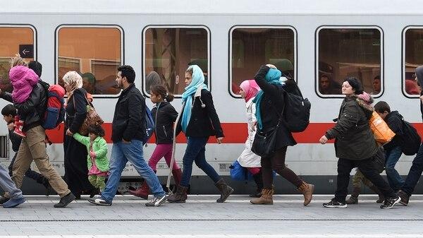 Refugiados en Alemania (AFP)