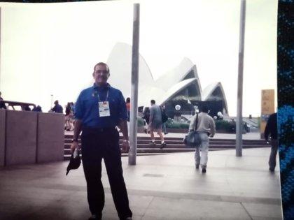 Luis Villicaña en Sydney 2000 (Foto: Cortesía Luis Villicaña)