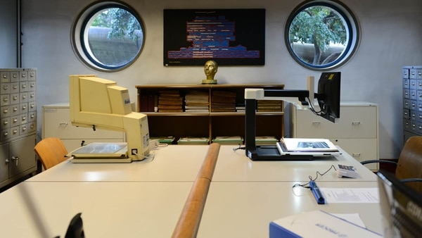 Sala para Ciegos de la Biblioteca Nacional