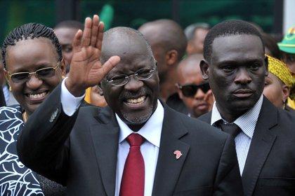 John Magufuli, presidente de Tanzania (REUTERS/Sadi Said/Archivo)