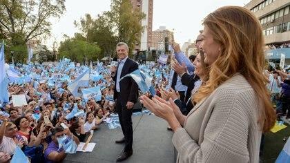 Macri en Neuquén (Foto: prensa Juntos por el Cambio)