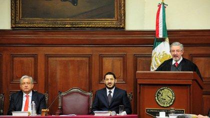 El ministro Luis María Aguilar será quien resuelva la constitucionalidad de la consulta. (Foto: Diego Simón Sánchez/Cuartoscuro)