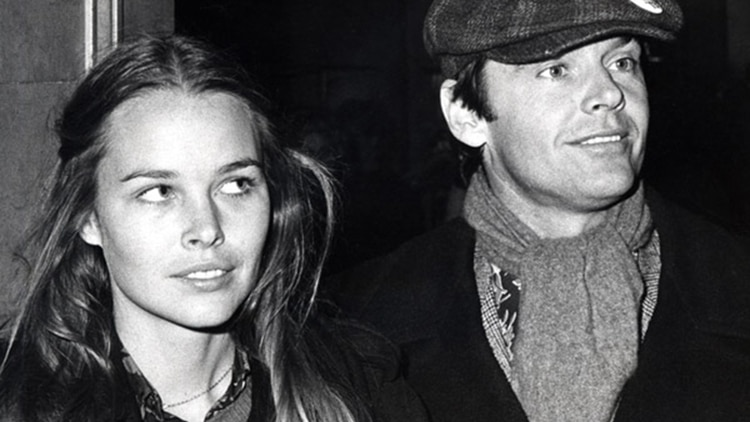 Jack Nicholson and Michelle Phillips