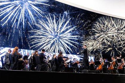 Más de 2 mil personas asistieron al lugar para emocionarse y disfrutar de un concierto de la Filarmónica Jóvenes de las Américas