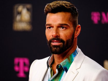 Ricky Martin arrives on the pink carpet of Premio Lo Nuestro awards in Miami, Florida, U.S. February 20, 2020. REUTERS/Maris Alejandra Cardona