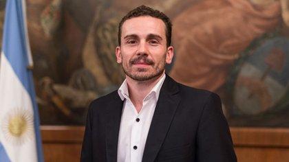 El secretario Finanzas Diego Bastourre.