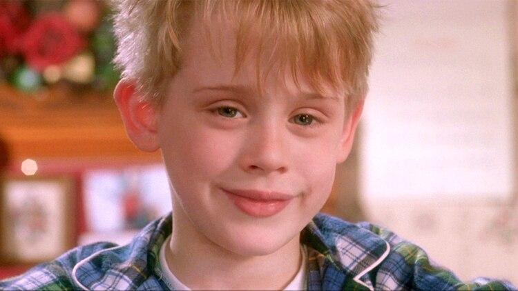 """Macaulay Culkin como Kevin McCallister en """"Mi pobre angelito"""""""
