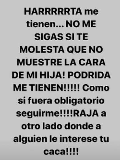 La respuesta de Dalma Maradona