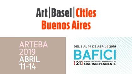 El gran evento se desarrollá entre el lunes 8 y domingo 14 de abril, e incluirá a arteBA, 22 instituciones y fundaciones culturales, y actividades desarrolladas por el programa Art Basel Cities: Buenos Aires y el BAFICI
