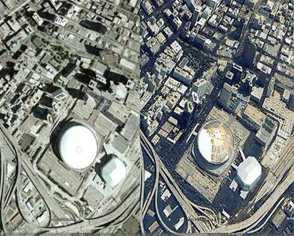 El antes y el después de Nueva Orleans tras el Katrina - Infobae