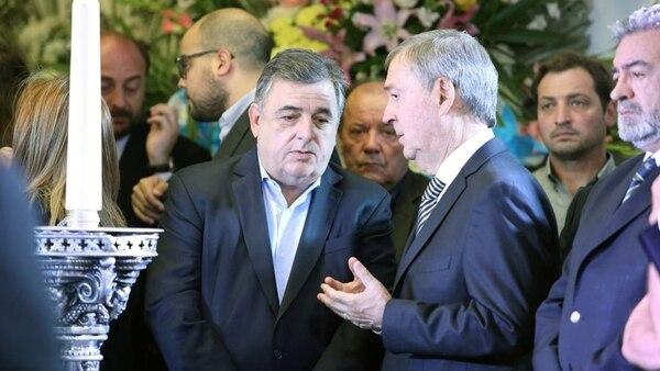 Mario Negri y Juan Schiaretti (Mario Sar)
