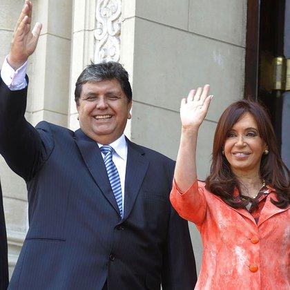 García en 2010 con Cristina Fernández de Kirchner, ex Presidente de la Nación Argentina (foto: Presidencia de la Nación argentina)