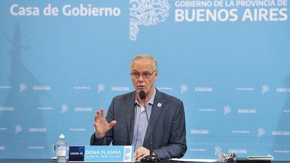 El ministro de Salud bonaerense, Daniel Gollan (Foto NA)
