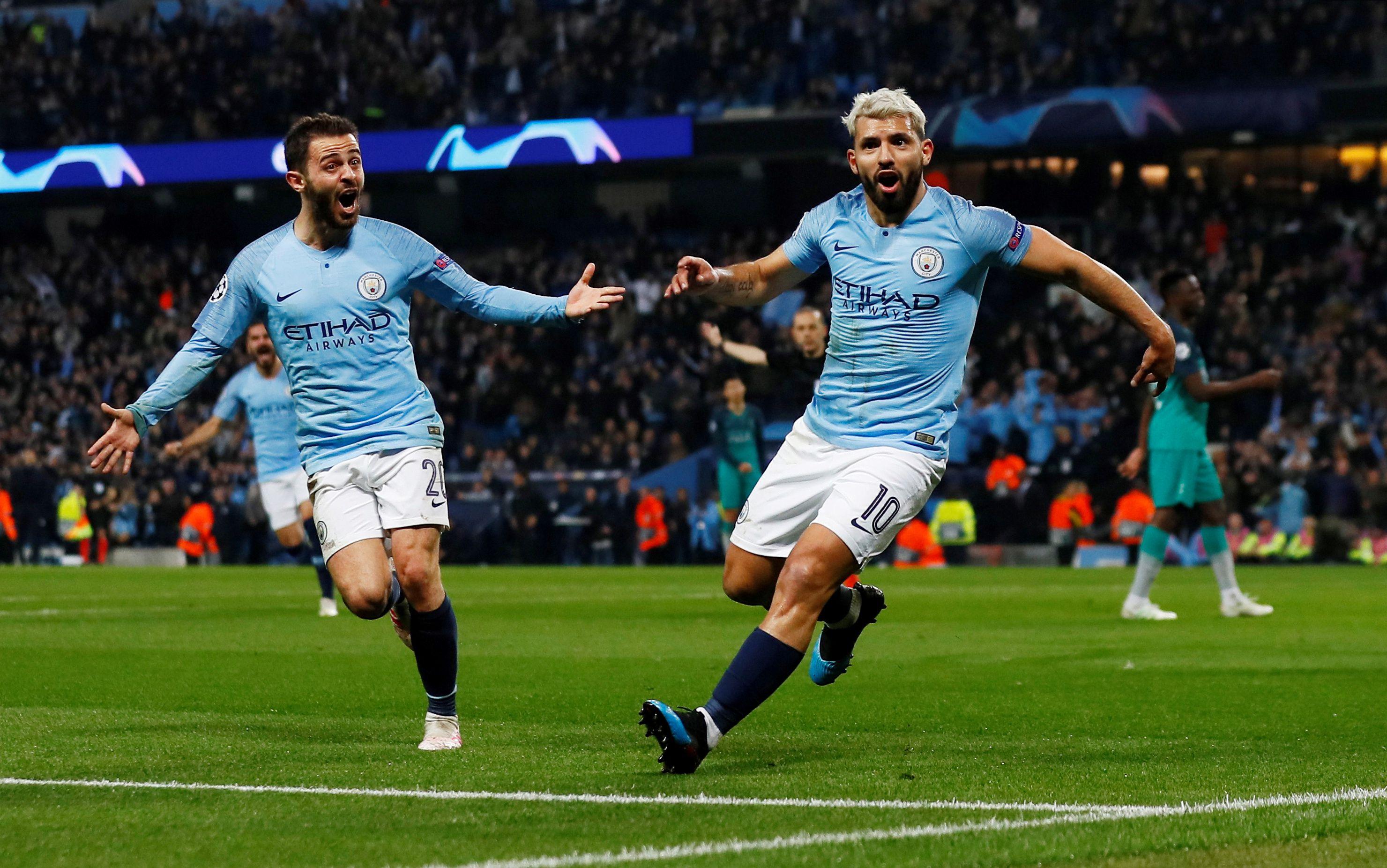 El Kun Agüero es una de las principales figuras del Manchester City (Reuters/Jason Cairnduff/File Photo)