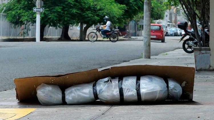 Un cuerpo reposa en las calles de Guayaquil (Bloomberg)