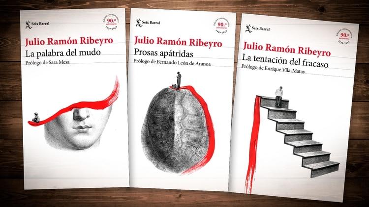 Tres libros clave de Julio Ramón Ribeyro