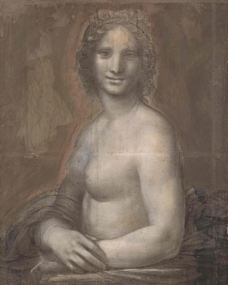 La Mona Lisa Desnuda La Historia Detrás De Una De Las Obras Menos
