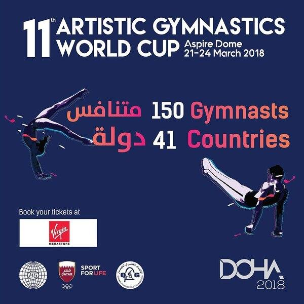 Qatar utiliza los eventos deportivos como el Mundial de Gimnsia artística como parte de su diplomacia blanda