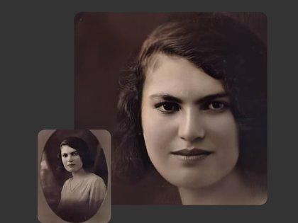 Las fotos se reconstruyen para mejorar la calidad y luego se genera la animación
