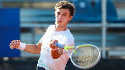 Juan Manuel Cerúndolo sorprendió y se clasificó a la final del ATP 250 de Córdoba (Foto: Cordoba Open)