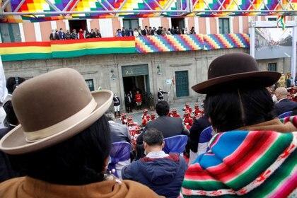 AMLO promocionó el trabajo de Arce como jefe de la economía del país bajo el gobierno de Evo Morales (Foto: Presidencia de Bolivia)