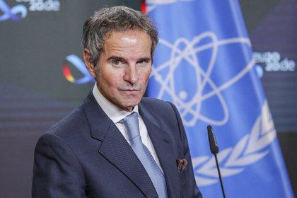 Rafael Grossi, titular del OIEA (EFE/EPA/Omer Messinger)